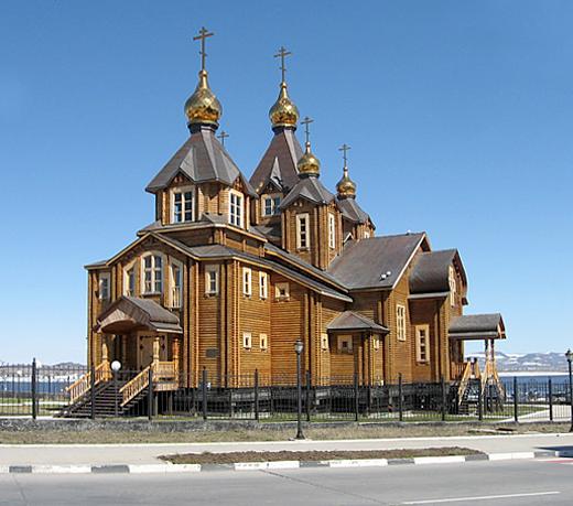 Анадырь и городской округ Анадырь